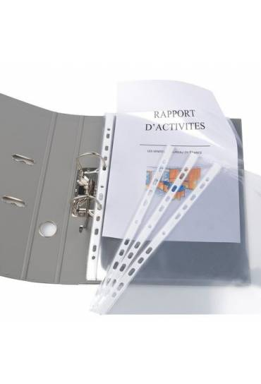Fundas multitaladro PP gran capacidad Elba caja 10
