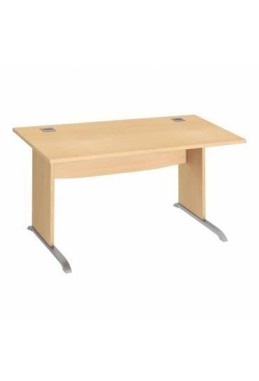 Mesa 140cm patas L madera haya excellens