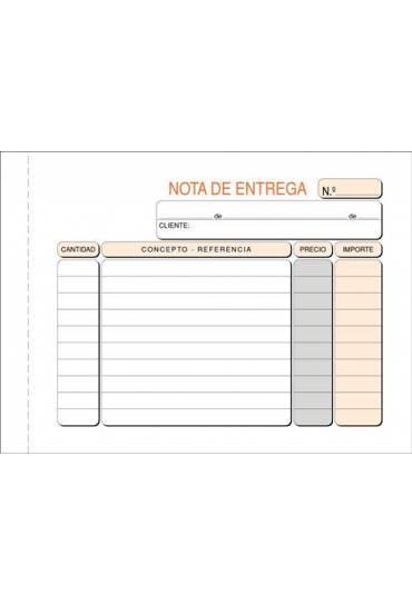 Talonario entrega duplicado150 x105 mm castellano