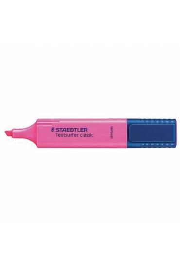 Marcador fluorescente rosa  Staedtler Texsurfer