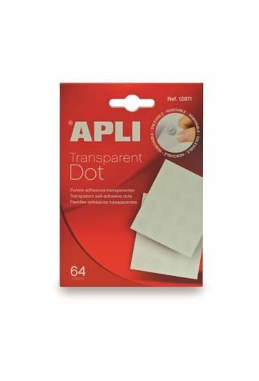 Gotas adhesivas doble cara DOT Apli