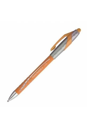 Boligrafo flexgrip elite Papermate naranja