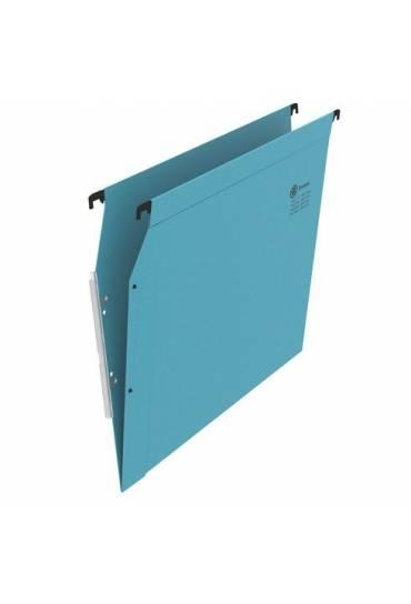 Carpeta colgante A4 visor lateral azul JMB
