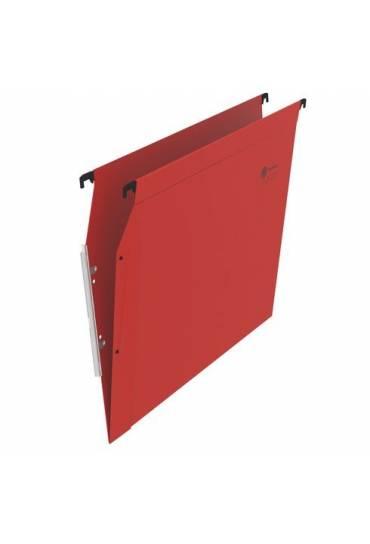 Carpeta colgante A4 visor lateral roja JMB