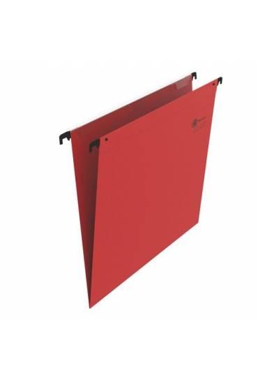 Carpeta colgante visor superior JMB A4 kraf roja
