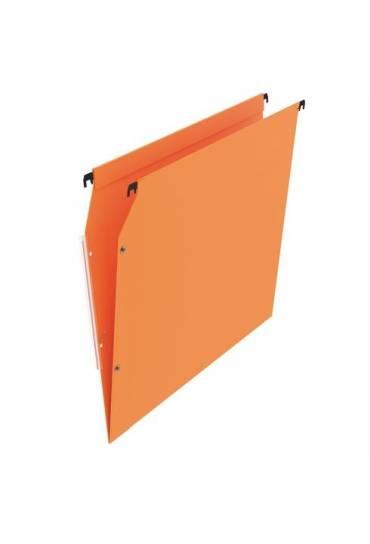 Carpeta colgante A4visor lateral naranja JMB