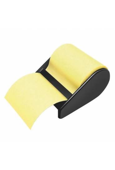 Dispensador + rollo notas Post it amarillo