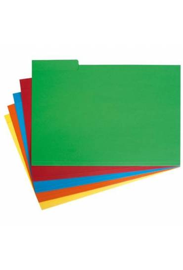 Subcarpetas pestañas Derecha Lateral Folio Rojas 5