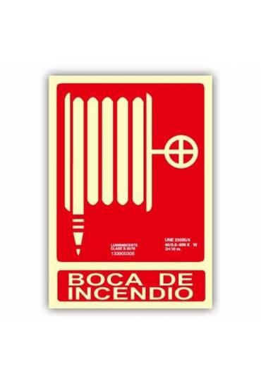 """Señal """"Boca de Incendio"""" 21x30 cm"""