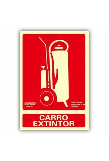 "Señal ""Carro Extintor"" 21x30 cm"