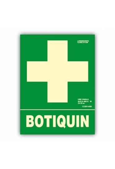 """Señal """" Botiquín """" 22x30 cm"""