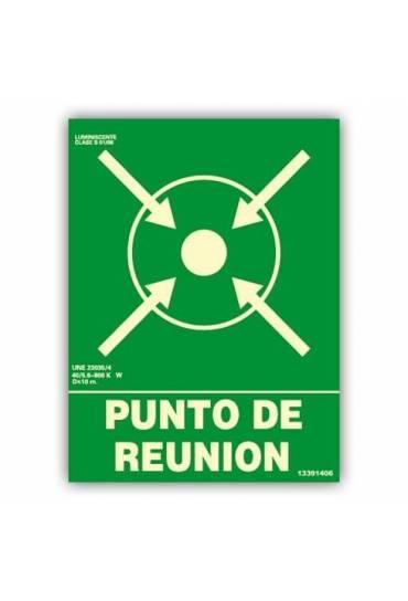 """Señal """" Punto de Reunión"""" 22x30 cm"""