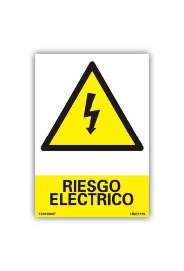 "Señal ""Riesgo Eléctrico"" PVC 21x30 cm"