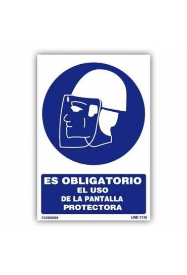 """Señal """" Obligatorio el Uso de Pantalla Protectora"""""""