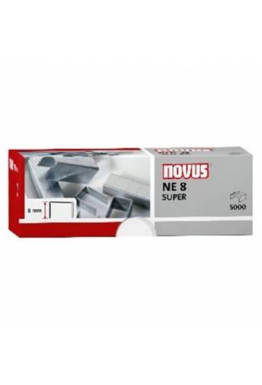 Grapas Novus galvanizadas NE8 40 h caja 5000
