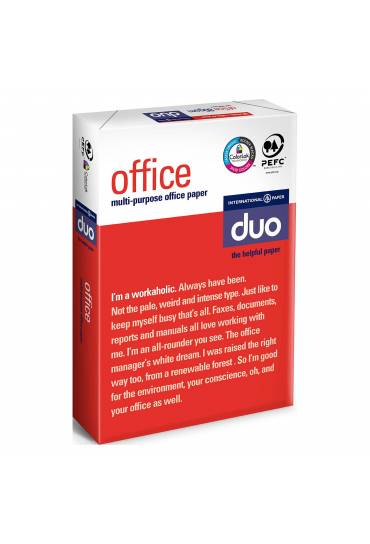Papel Office duo 500h A4 80gr extrablanco