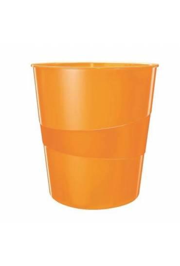 Papelera Leitz wow naranja