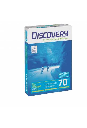 Papel Discovery A4 blanco 70 gramos 500 hojas