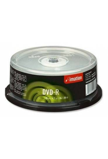 Tarrina 25 dvd-r imation