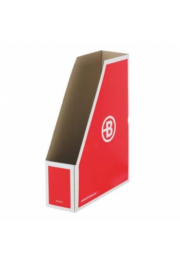 Revistero carton JMB 8.5cm rojo
