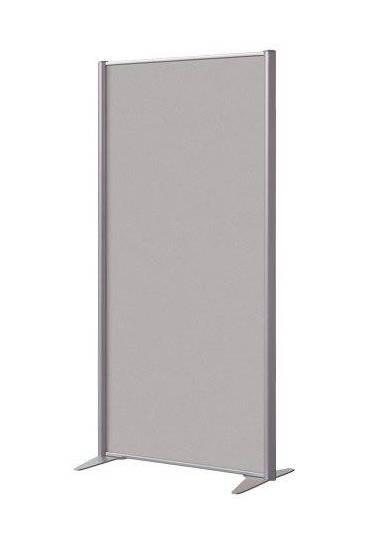 Mampara melamina antibacteriana 160x81 aluminio