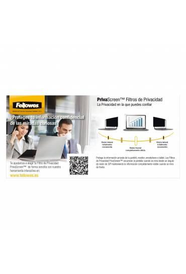 "Filtro privacidad visiscreen 15.6""  Fellowes"