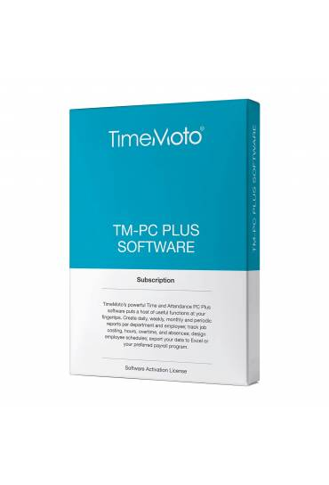 Fichaje Time Moto PC-Software Plus Safescam