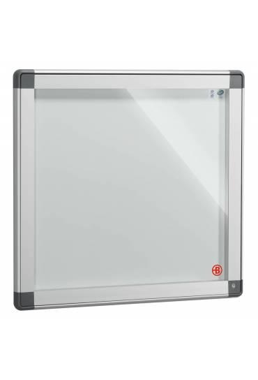 Vitrina exterior JMB puerta cristal 71x74 aluminio