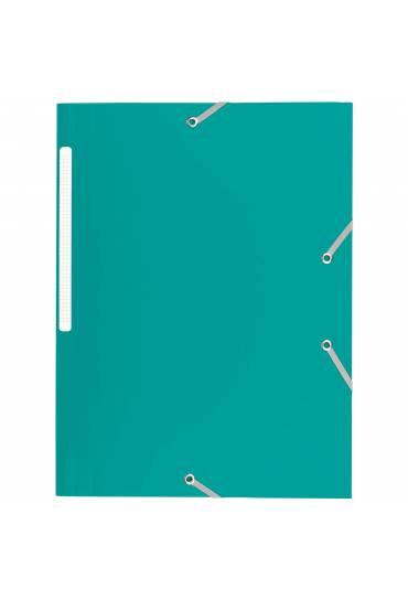 Carpeta 3 solapas polipropileno Verde.