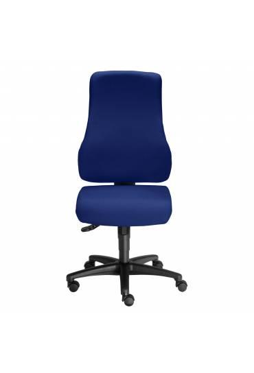 Silla  ruedas oficina dhark azul sincro