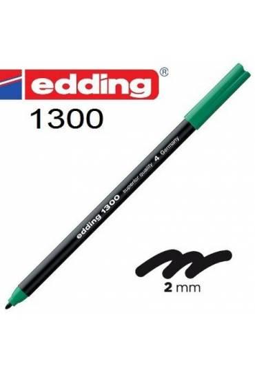 Rotulador 1300 Edding verde