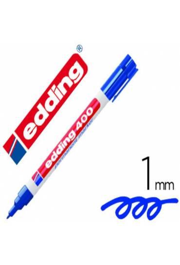 Marcador Edding 400 azul