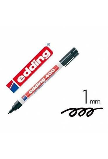 Marcador Edding 400 negro