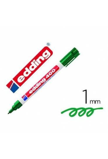 Marcador Edding 400 verde