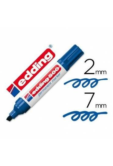 Marcador Edding 500 azul