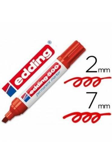 Marcador Edding 500 rojo