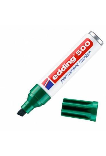 Marcador Edding 500 verde