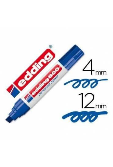 Marcador Edding 800 azul