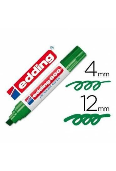 Marcador Edding 800 verde