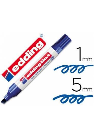 Marcador Edding Nº1 azul