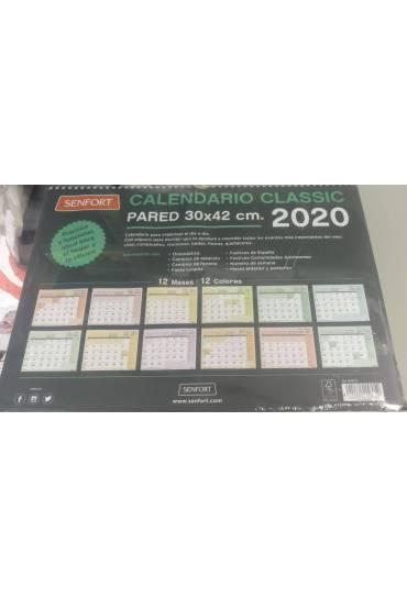 Calendario pared 42x30cm senford classic