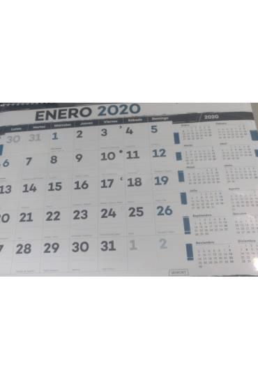 Calendario pared 24x31  cm senfort Trazos