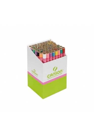 Rollo papel seda Canson 0,5x5m rosa