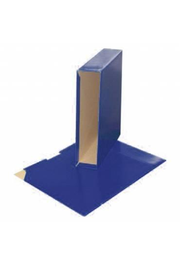 Caja archivador PP 75 mm A4 JMB azul oscuro