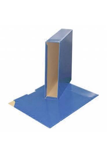 Caja para archivador A4 75mm azul