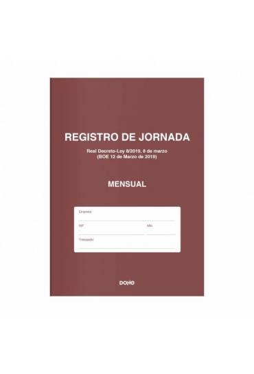 Libro de registro de jornada