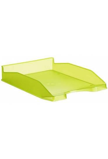 Bandeja portadocumentos translucida 742 verde