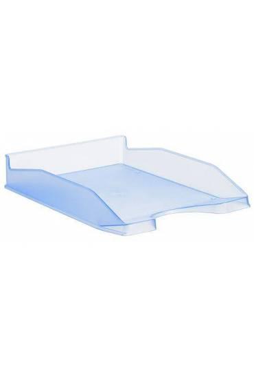 Bandeja portadocumentos translucida 742 azul