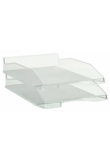 Bandeja portadocumentos transparente 742 cristal