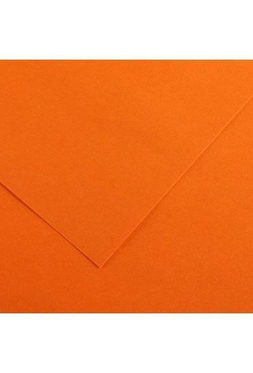 Cartulina A4 Iris 185g  naranja 50 unds